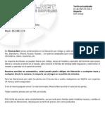 Precios SAT Group 01-04-2013