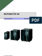 SIEMENS Micromaster 420