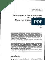 Habermas - Moralidade e ética discursiva em J.Habermas. Para uma ontologia do agir comunicativo