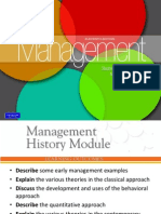 Chapter 1a-History of Management