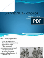 ARHITECTURA GREACA