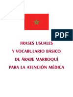 Vocabulario Basico Arabe Marroqui-espanol (Grupo Crit)