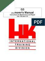 HK G3 Armor Manual