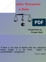 Assets & Liability Managemetn in Banks