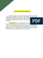 Www.referat.ro-erori in Evaluarea Didactica
