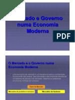 Mercados e Governo Numa Economia Moderna
