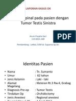 Lapsus ok tumor testis
