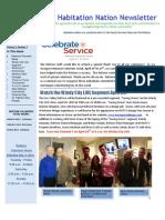 March-April 2013 HABITAT Newsletter