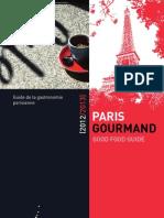 Paris Gourmand 2012 2013