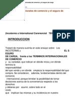 Incoterms Terminos Internacionales de Comercio y El Seguro de Carga