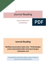 Jurnal Reading anestesi