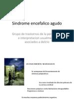 sindrome encefalico agudo