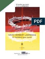 LAWRENCE, D. H. - El Hombre-Que-murio