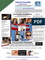 GLOBALE DEKLARATION - OH SCHANDE ÖSTERREICH - Wiederholte Strafanzeige