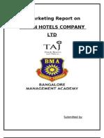 72754669 Mba Project Tajhotel