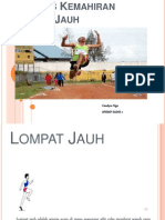 Analisis Kemahiran Lompat Jauh