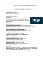 DISEÑO DE UNA CÁMARA DE REFRIGERACIÓN PARA ALMACENAMIENTO DE FRESAS