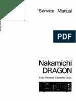 Nakamichi Dragon Service Manual