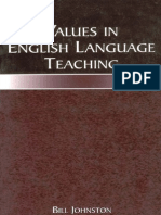 Values in English Language Teaching 0805842934