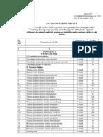 12839-Catalogul Tarifelor Unice Pentru Serviciile Medico-sanitare