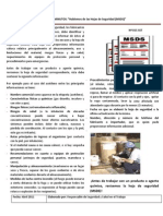 Info 015 SSO Hojas de Seguridad