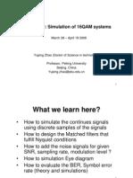 2 Simulation of 16QAM Systems
