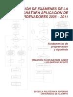 Colección Problemas Examen Algoritmos 2005-2011