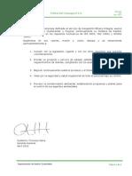 DSGI 020 Polìtica del SGI V02
