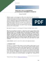 The Role of l Satu in l Dua Acquisition