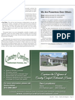 Country Comfort Retirement Homes, Inc.
