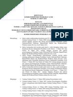 Keputusan Kip Aceh No. 31 Tahun 2012