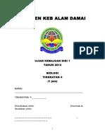 Ujian 1 Biologi Form 4