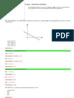 matemática - 22 função polinomial do 1º grau - exercícios resolvidos