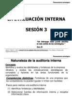 Sesión 3-La Evaluación Interna