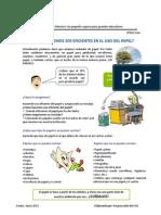 Charla SGA 022 Eficiencia en El Uso y Reciclaje de Papel - Copia