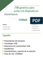 Interfaz USB Generica Para Comunicacion Con Dispositivos Electronicos