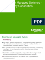 Managed Switch - Redundancy Features