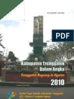 Trenggalek Dalam Angka 2010