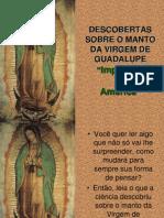 O Manto de N S de Guadalupe
