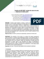 2011 Processo Implantacao ISO9001 Empresa Medio Porte