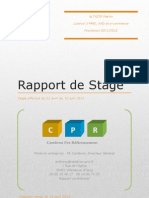 Rapport de Stage Licence 3