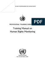 UN Human Rights Training
