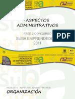 Modulo 3 - Aspectos Administrativos