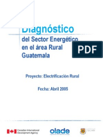 Diagnostico Energia Rural Guatemala