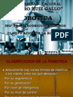 Clasificacion de La Robotica