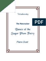 Tchaikovsky SugarPlumFairy Duet Sheet Music