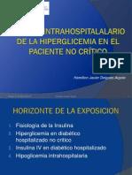 Manejo Del Paciente Diabetico Hospitalizado