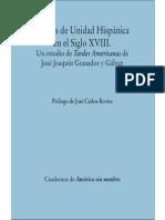 VIRGINIA GIL - Sueños de Unidad Hispánica en el Siglo XVIII