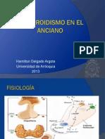 Hipotiroidismo en El Paciente Anciano