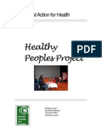 Newham Health Trust - What's your story? - Report Final